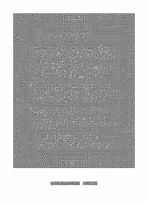 Jonathan Frey: Language Maze