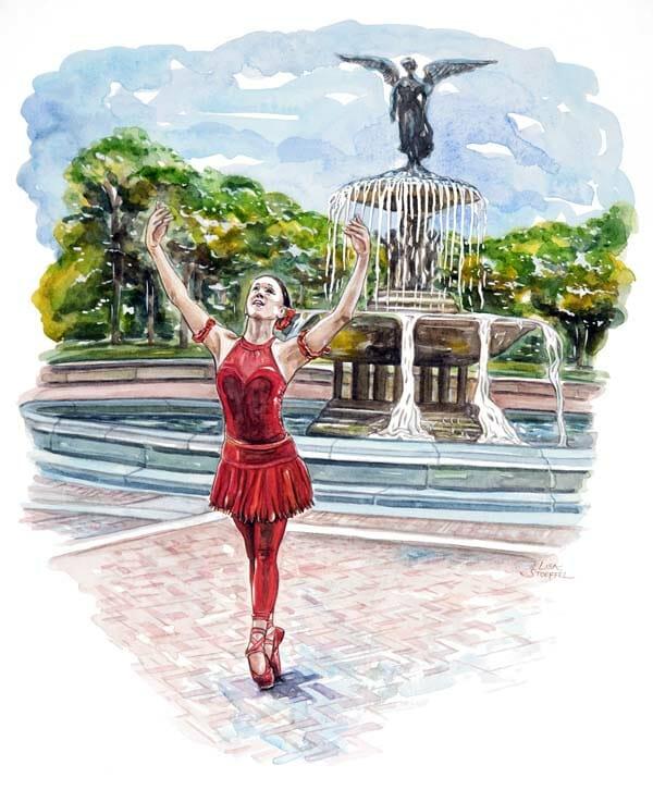 Lisa Stoeffel: Central Park Ballerina