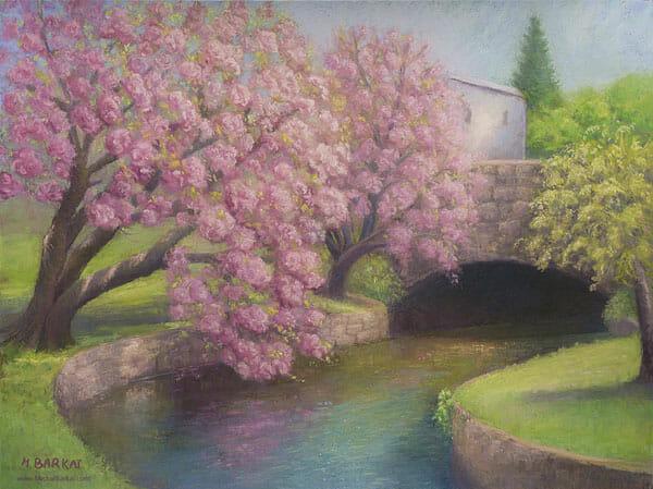 Michal Barkai: Verona Cherries and Overpass