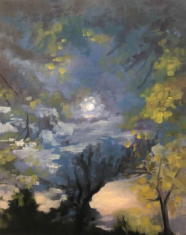 Mary Jane Plofker: Moon Over Montclair