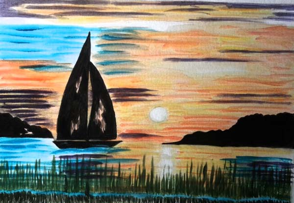 Rochelle Hoff: Sunset Sail