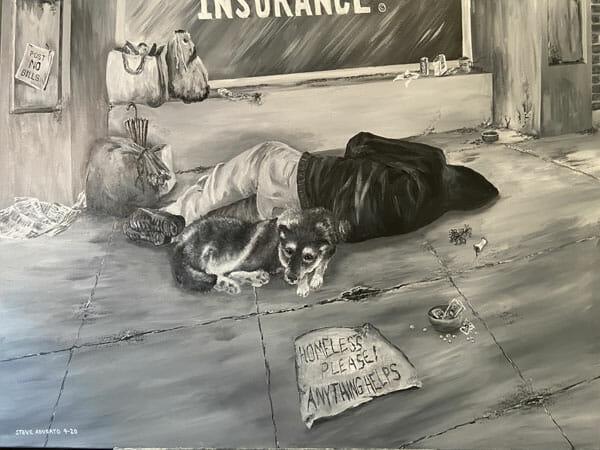 Stephen Adubato: Destitute