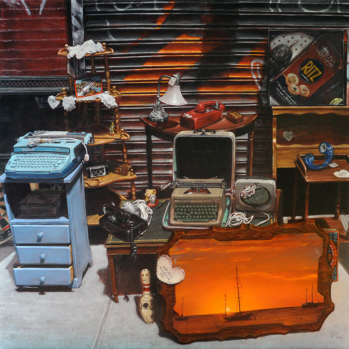 Ted Papoulas: East Village Still Life