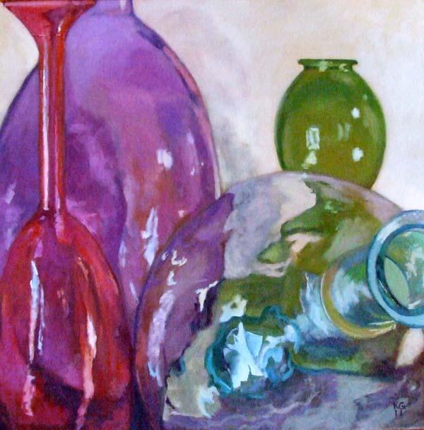 karen goldberg: Bottles 3